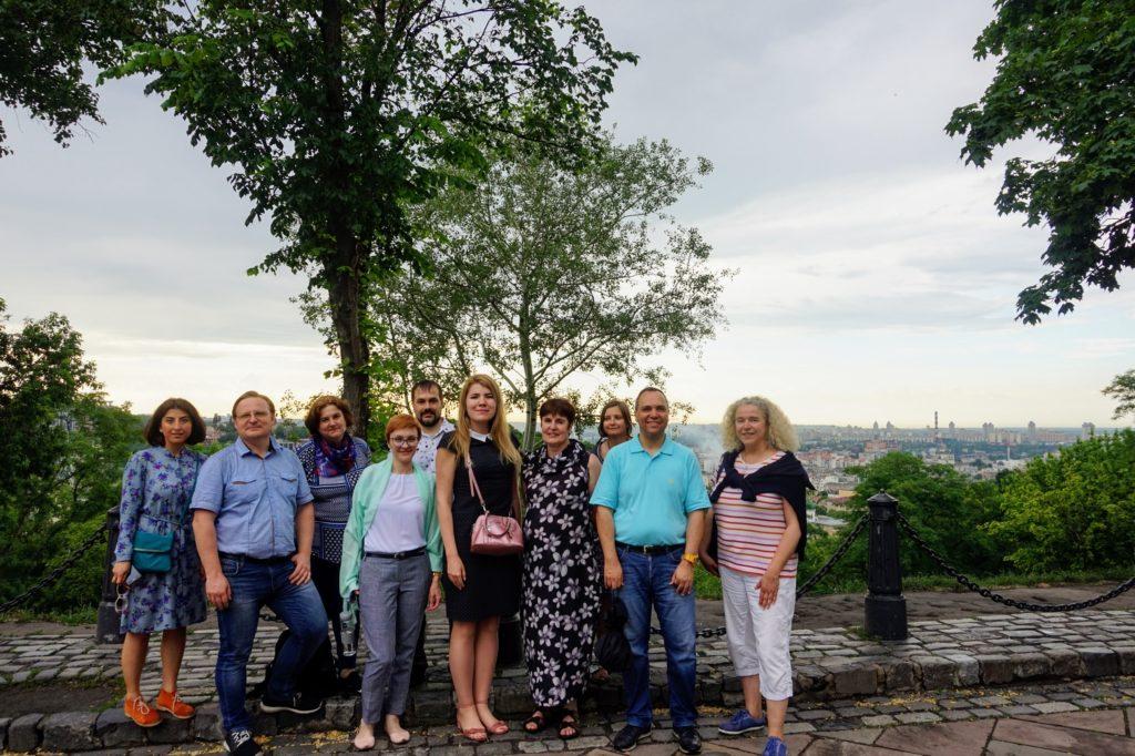 Excursion around Kiev for the OpenAIRE workshop participants, June 2019