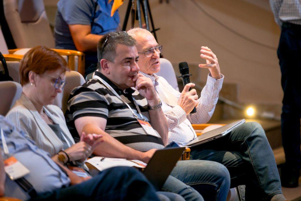 URAN representatives at the annual conference EaPEC. Yerevan, September 2019
